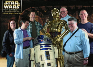 R2D2 and C3PO photo